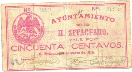 50 Cvs De Zitacuaro 1915