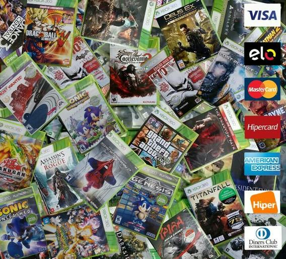 Jogos Xbox 360 Novos E Usados - Diferentes Valores