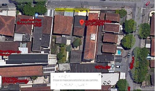 Terreno À Venda, 1050 M² Por R$ 2.500.000,00 - Vila Matias - Santos/sp - Te0249