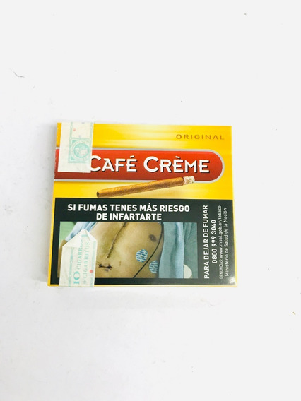 Cafe Creme Cigarros 10u - Candyclub Local Once