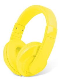 Fone De Ouvido Headset Color Maxprint 6011870 Amarelo 24159
