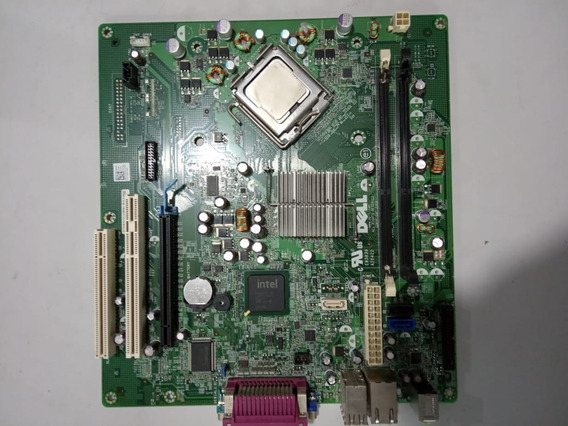 Placa Mae Dell Optiplex 380 Lga 775 Ddr3 C/intel Dual Core