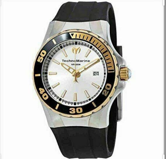 Reloj Technomarine Tm215055 Hombre Cuarzo Análogo Contra Agu