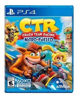 Crash Team Racing Ctr Ps4 Nitro Fueled Nuevo Y Sellado