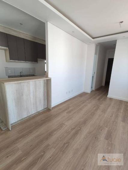 Apartamento Com 3 Dormitórios, 67 M² - Venda Ou Aluguel - Parque Euclides Miranda - Sumaré/sp - Ap7031