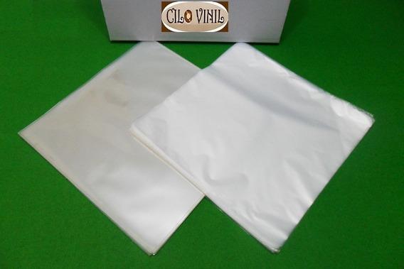 Vinil Lps 100 Plásticos - 50 Extra Grosso 0,20 + 50 Internos