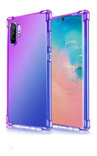 Funda Carcasa Samsung / Xiaomi Reforzada Gradient Shockproof Protector Anti Golpes Proteje La Camara Trasera