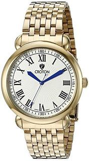 Croton Hombre Cn307532yldw Heritage Pantalla Analógica Reloj