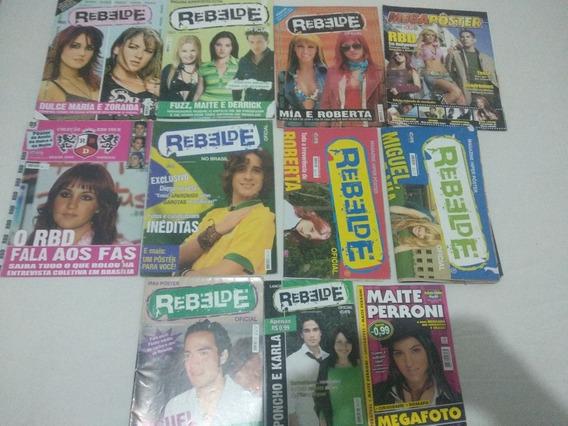 Lote Revistas Rebeldes