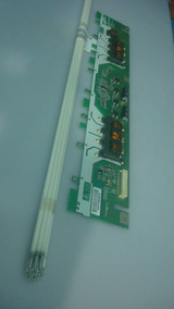 Kit Com 8 Lampadas Mais A Inverter Usada Na Tela Lty320ap02