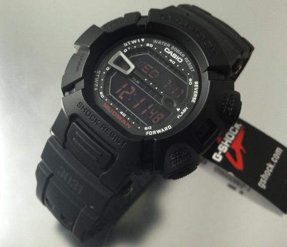 Casio G-shock G-9000 Digital Masculino G9000- Preto Black