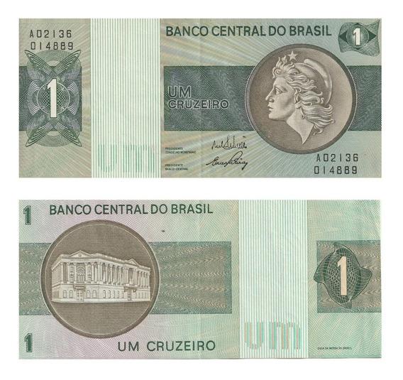 Cédula Nota 1 Um Cruzeiro - Fe
