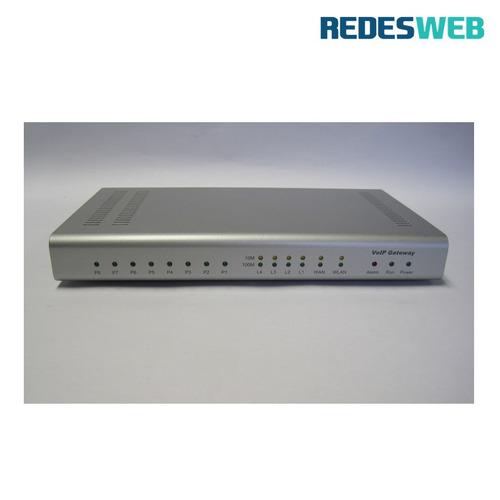 Gateway Para Voip Fxo: Sp-8440o Octtel