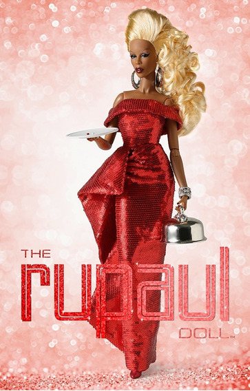 Rupaul Red Realness Integrity Toys Drag Queen Fashion Royalt