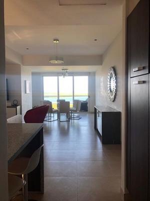 Departamento Amueblado Renta En Torre Montevideo - Malecon America Cancun