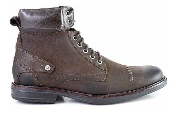 Borcego Cuero Hombre Invierno Bota Botineta Zapato Hcbo00935