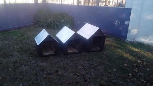 Casillas Para Perros En Madera