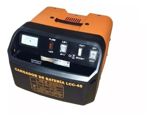 Imagen 1 de 7 de Cargador De Bateria Auto 120 Amp Lusqtoff 12v 24v Lcc45