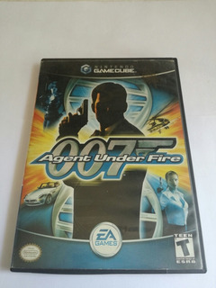Gamecube Agente 007 Agent Under Fire Nintendo Game Cube