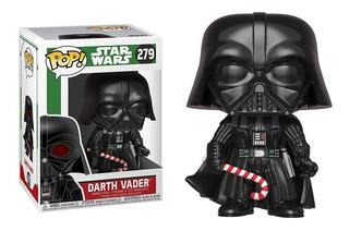 Funko Pop Darth Vader #279 Star Wars Holiday Jugueterialeon