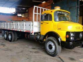 Mb Lk 1518 Truck- 1989 (turbo, Direção, Freios Ar, Reduzido)