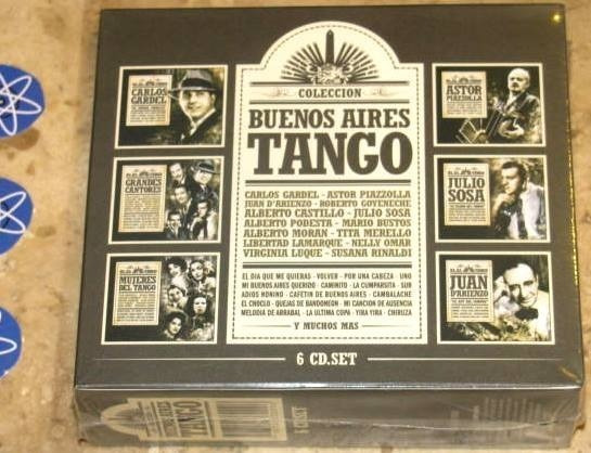 Box 6 Cd Buenos Aires Tango (2008) Piazzolla Gardel Darienzo