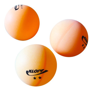 Kit Bolinhas De Ping Pong Klopf Oficial - 3 Unidades