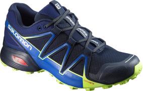 Calzado Masculina Salomon - Speedcross Vario 2 Azul - Trail