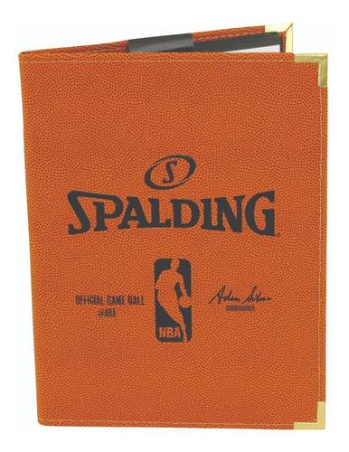 Carpeta Nba Binder Spalding 8.5x11