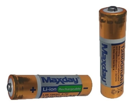 Kit 6 Bateria Recarregável 8800mah Lítio 18650 3.7v Vaper