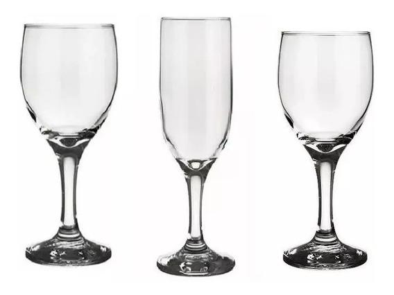 Copa X12 Nadir Lirio Agua Vino O Champagne Vidrio Importado