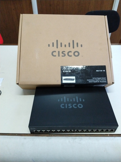 Switch 16p Cisco Sg 110-16 Giga
