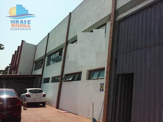 Galpão Industrial À Venda, Jardim Do Lago, Campinas. - Ga0195