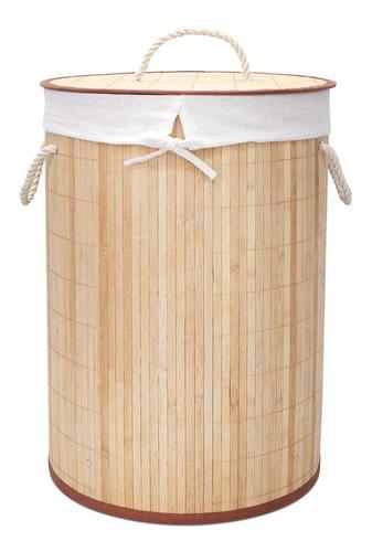 Cesto Para Ropa Sucia Y Lavandería De Bambú Begônia