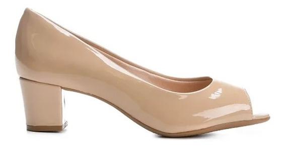Zapatos Beira Rio Stilettos Boca De Pez Charol 4777 Rimini