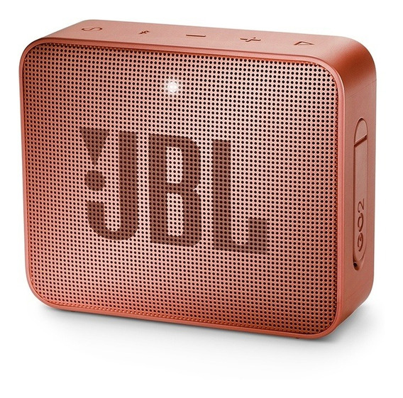 Caixa Portátil Jbl Boxgo2 3w Cinnamon Bluetooth Prova D
