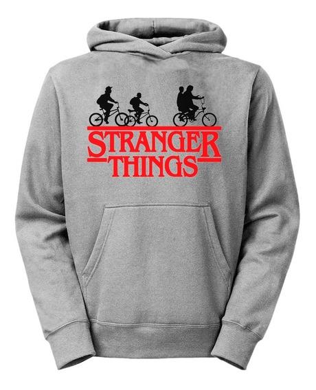 Moletom Stranger Things Casaco Blusa Frio Série +brinde