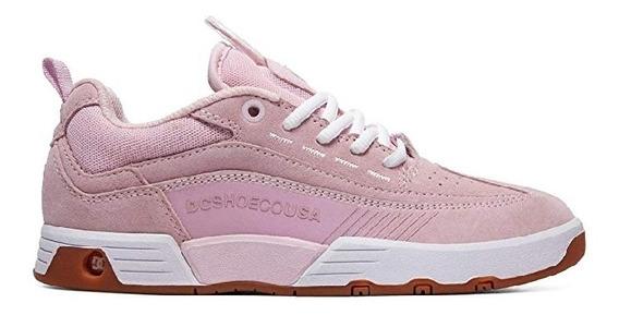 Tenis Dc Shoes Legacy 98 Slim Rosa 26mx