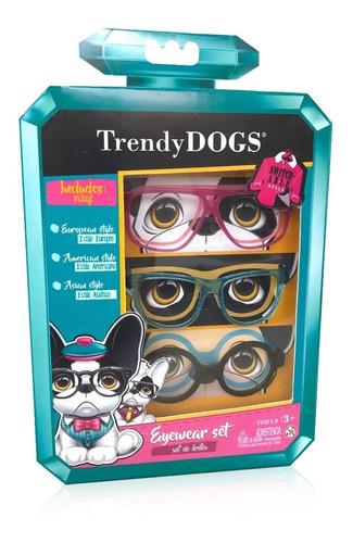 Imagen 1 de 4 de Trendy Dogs Set Anteojos Perro Perfumado Original Ink Edu