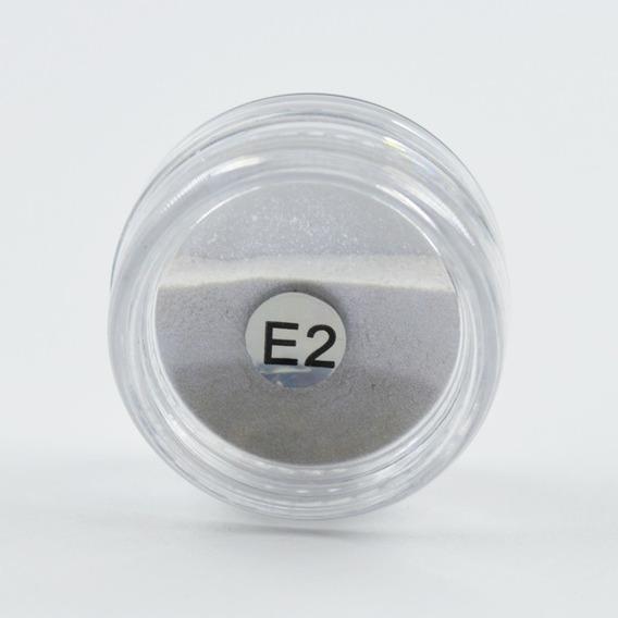 3 Glitter Para Unha Efeito Metalizado Cromado Guo Ji Feng E2