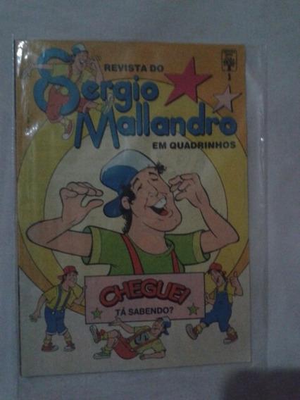 Revista Sérgio Malandro N°1 Mai O Mini Álbum E Outros Brinds