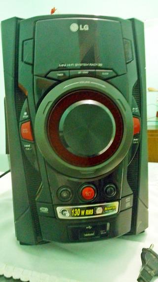 Mini Hifi System Lg Rad 136 Com Defeito