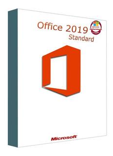 Office Standard 2019 1 Pc 32/64 Bits