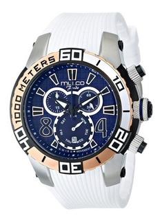 Reloj Mulco Para Mujer Mw1-74197-014 Fondo Suizo De Cuarzo