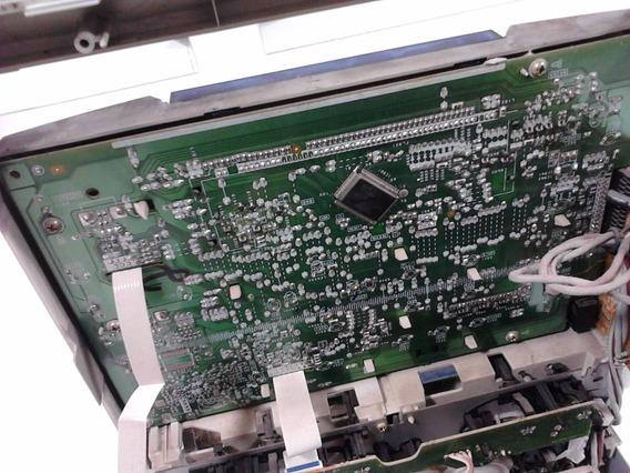 Placa Do Painel Frontal Som Aiwa Nsx-sz529 Com Plástico