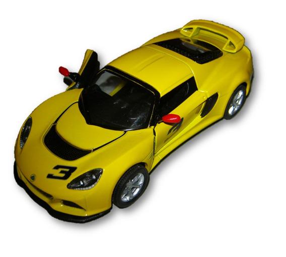Auto Kinsmart Lotus Exige S 2012 Abre Puertas Retrocuerda