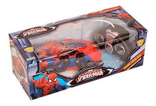 Auto Radio Control Spiderman C Luz Y Garras De Ataque Ditoys