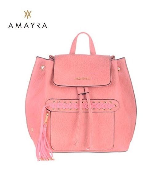 Mochila Amayra Rosa 67.c1191.2