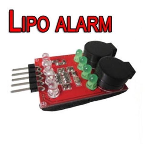 Tester Bateria Lipo Bajo Voltaje Checker Alarma Indicador Rc