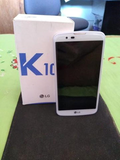 Lg K10 Tv Branco 16gb 2 Chip Hd 4g Android 6 13mp 1.14 Ghz